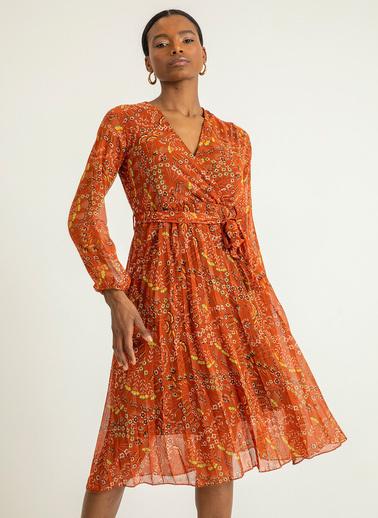 Foremia Elbise Oranj